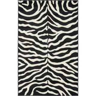 Safari Black Rug (3'2 x 5'2)