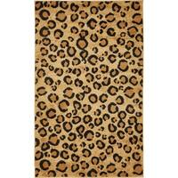 Unique Loom Leopard Wildlife Area Rug - 3' 3 x 5' 3
