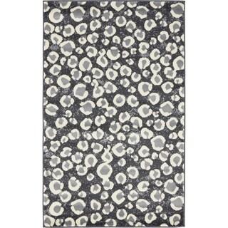 Dark Grey Safari Rug (3' 2 x 5' 2)
