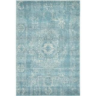 Unique Loom Maria Tradition Area Rug (Light Blue - 8 x 10)
