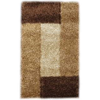 Noble House Inc Pearl Polyester Shag Rug (8'x11')