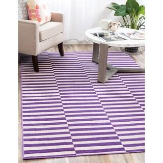 Tribeca Purple Rug (4'x6')