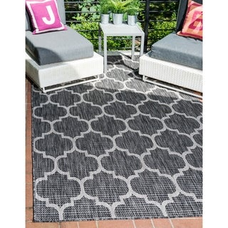 Unique Loom Outdoor Trellis Area Rug - 4' x 6'