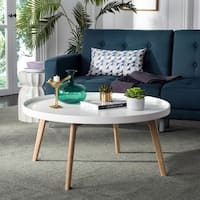 Safavieh Mid-Century Rue Oval Coffee Table