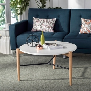 Safavieh Mid-Century Thyme Round Coffee Table