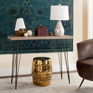 Safavieh Mid-Century Lali Wood Console Table