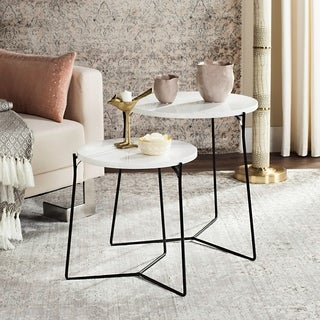 Safavieh Mid-Century Ryne Lacquer Stacking End Table