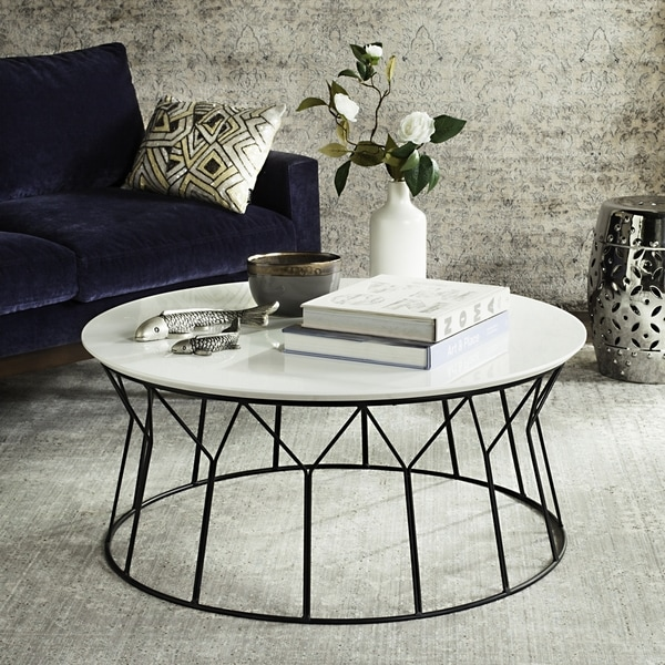 Safavieh Mid-Century Deion Lacquer Coffee Table