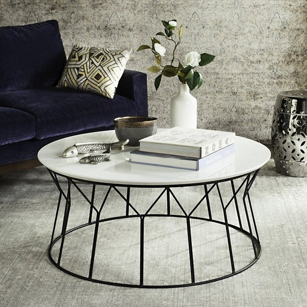 Shop Safavieh Mid-Century Deion Lacquer Coffee Table