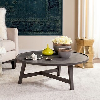 "Safavieh Mid-Century Malone Wood Coffee Table - 35.4"" x 35.4"" x 13.8"""