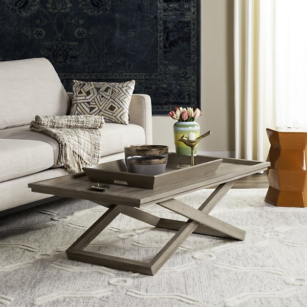Safavieh Arleana Cross Leg Coffee Table