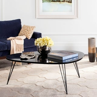 "Safavieh Mid-Century Wynton Lacquer Coffee Table - 44"" x 31.5"" x 15.6"""