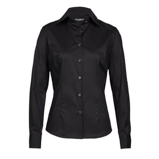 Dolce & Gabbana Women's Black Cotton Button-up Blouse|https://ak1.ostkcdn.com/images/products/13339572/P20042512.jpg?impolicy=medium