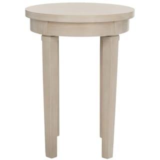 Safavieh Kipp Round Top Wood End Table