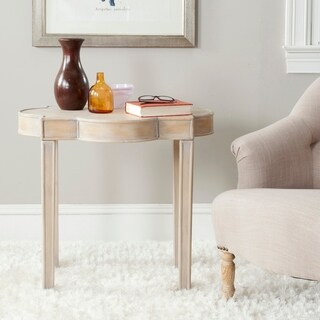 Safavieh Mizel Quatrefoil Top End Table