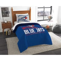 The Northwest Company MLB Toronto Blue Jays Grandslam Multicolor Twin 2-piece Comforter Set