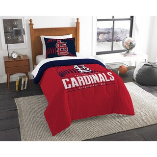 The Northwest Company MLB St. Louis Cardinals Grandslam Twin 2-piece Comforter Set