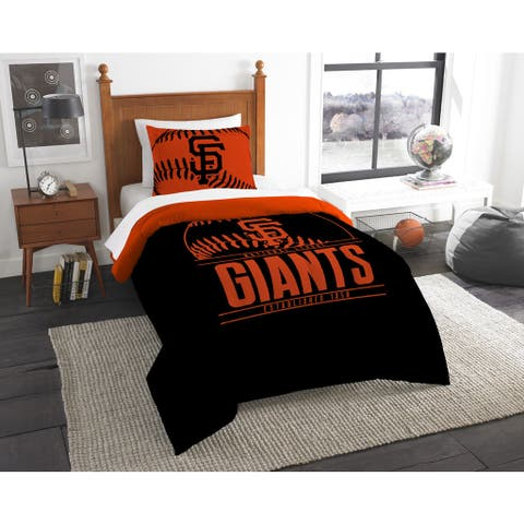 The Northwest Company MLB San Francisco Giants Grandslam 2-piece Twin Comforter Set - Multi
