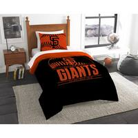 The Northwest Company MLB San Francisco Giants Grandslam 2-piece Twin Comforter Set