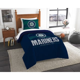The Northwest Company MLB Seattle Mariners Grandslam Twin 2-piece Comforter Set