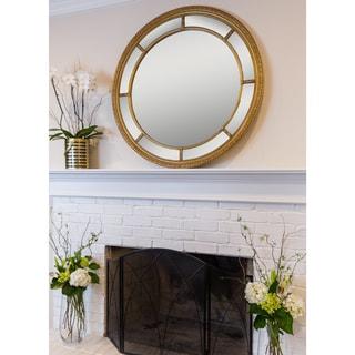 SBC Augusta Gold Circular Mirror