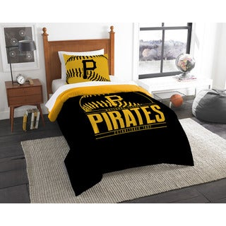 The Northwest Company MLB Pittsburgh Pirates Grandslam Twin 2-piece Comforter Set
