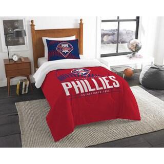 The Northwest Company MLB Philadelphia Phillies Grandslam Twin 2-piece Comforter Set