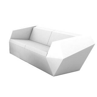 Chantel Angular Contemporary Color-Changing Sofa