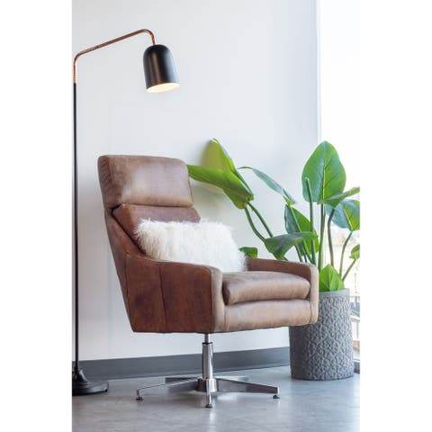 Aurelle Home Sleek Modern Floor Lamp