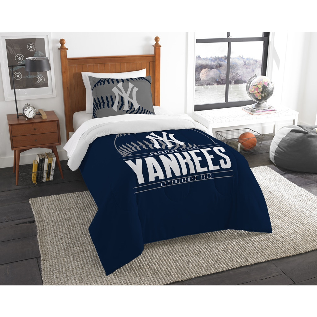 Norwesco MLB New York Yankees Grandslam Twin 2-piece Comf...
