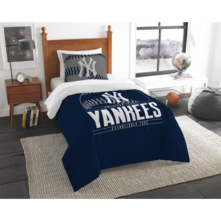 The Northwest Co MLB New York Yankees Grandslam Twin 2-piece Comforter Set