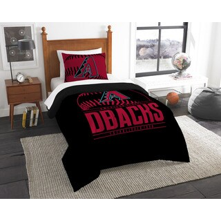 The Northwest Company MLB Arizona Diamondbacks Grandslam Twin 2-piece Comforter Set