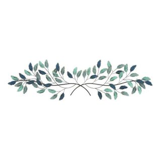 Benzara Metal 53'x15' Leaf Wall Decor