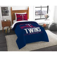 The Northwest Company MLB Minnesota Twins Grandslam Twin 2-piece Comforter Set