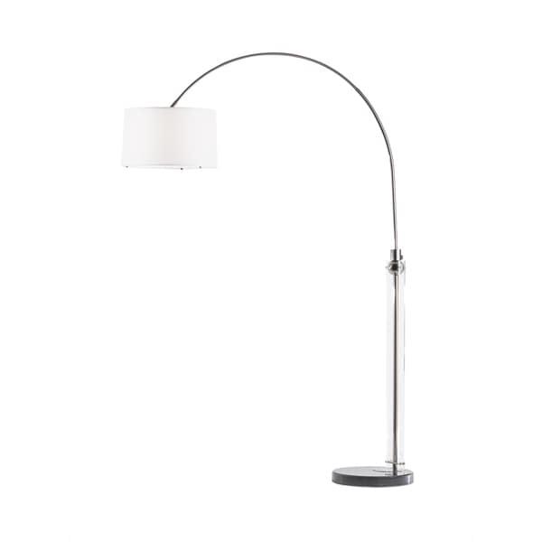 Barbeto Black Arc Floor Lamp
