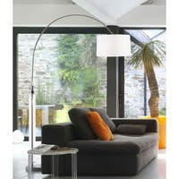 Barbeto Black Arc Floor Lamp