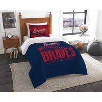 The Northwest Company MLB Atlanta Braves Grandslam Twin 2-piece Comforter Set
