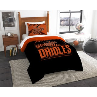 The Northwest Company MLB Baltimore Orioles Grandslam Twin 2-piece Comforter Set
