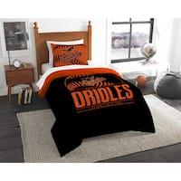 The Northwest Company MLB Baltimore Orioles Grandslam Twin 2-piece Comforter Set
