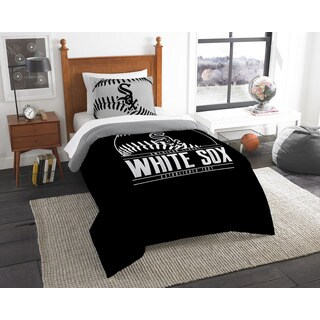 The Northwest Company MLB Chicago White Sox Grandslam Twin 2-piece Comforter Set