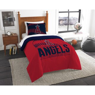 The Northwest Company MLB Los Angeles Angels Grandslam Twin 2-piece Comforter Set