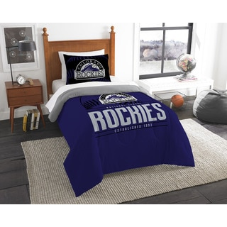 The Northwest Company MLB Colorado Rockies Grandslam Twin 2-piece Comforter Set