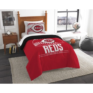 The Northwest Company MLB Cincinnati Reds Grandslam Twin 2-piece Comforter Set