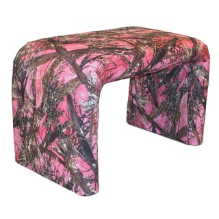 Dozydotes End of Bed Bench in True Timber MC2 Camouflage Cotton