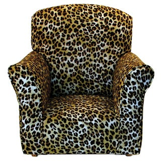 Dozydotes Toddler Rocker in Cheetah Print Cotton