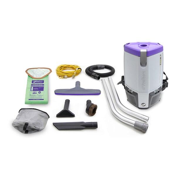 ProTeam Super CoachVac Pro 6 QT Backpack Vacuum Cleaner