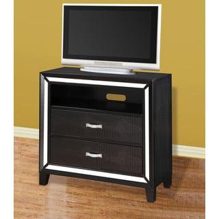 Acme Furniture Elberte Black Wood TV Console