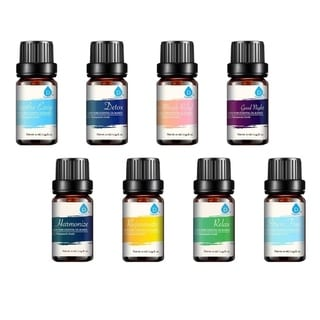 Link to Pursonic AOB-8 Aromatherapy Blends of 100% Pure Essential Aromatherapy Oils Gift Set-8 Pack 10ML Bottles - Clear Similar Items in Aromatherapy & Massage