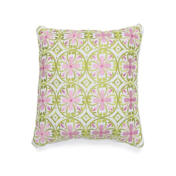 Dena Home Capri Square Decorative Throw Pillow