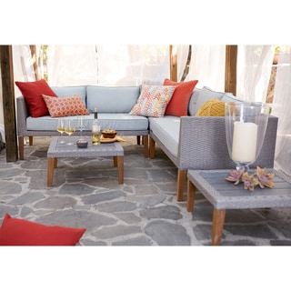 Turin 5 Piece Sectional Sofa Set
